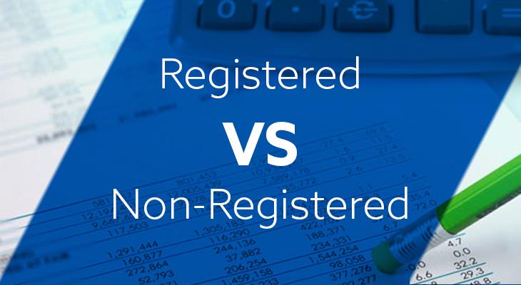 Registered Vs. Non-Registered Investment Accounts